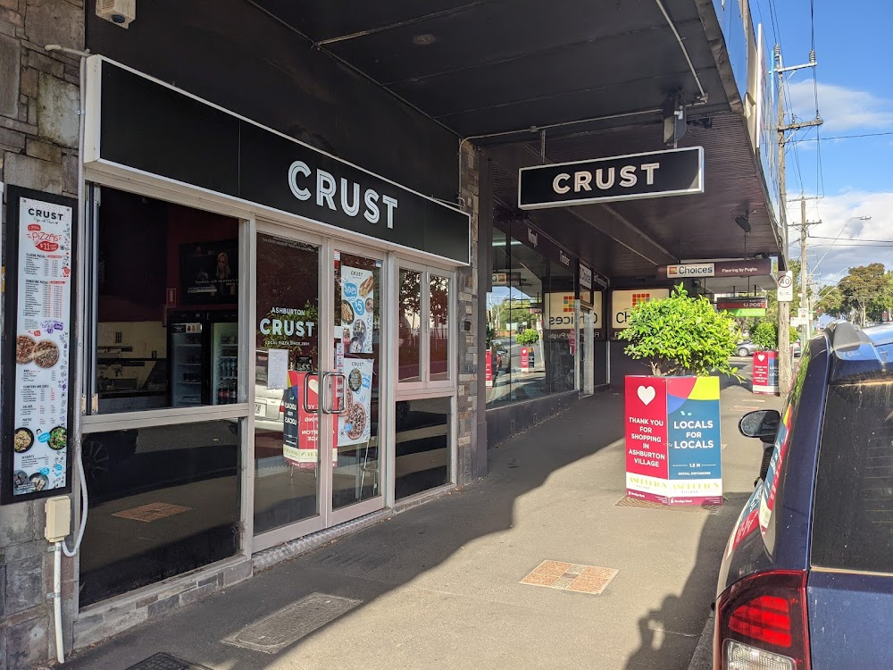 Crust Pizza Ashburton